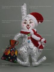 Кролик новогодний