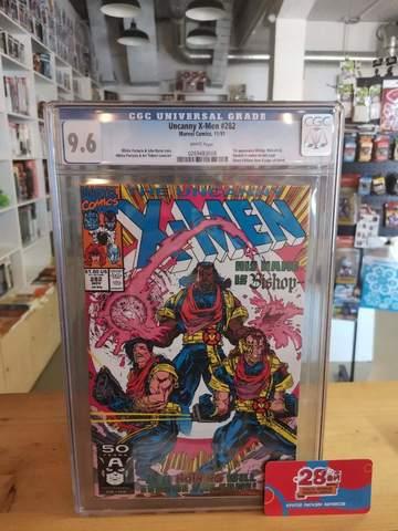 Uncanny X-Men #282 CGC 9.6 (Первое появление Бишопа)