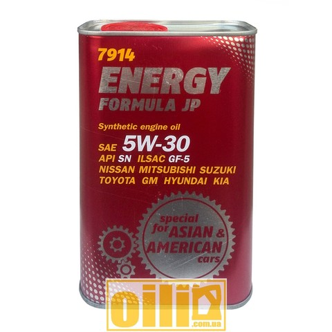 Mannol 7914 ENERGY FORMULA JP 5W-30 1л