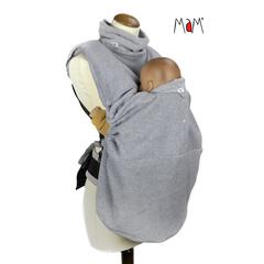Флисовая слинговставка-накидка MaM Snuggle, Серебристый