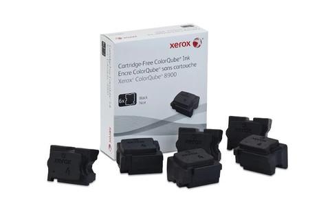 Оригинальный набор картриджей (твердые чернила) Xerox 108R01025, черные (6шт)