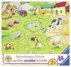 Puzzle ANIMAL FARM 9 pcs