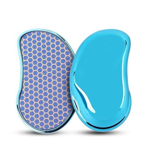Нано терка пилка для п'ят Shelly блакитна. Терка для ніг. Пилка для ніг. Пилка для педикюру. Лазерна терка. (1)