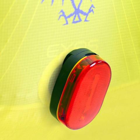 Картинка чехол от дождя Osprey Ultralight High Vis Raincover (XS, Electric Lime)  - 3