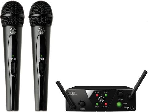 Двойные комплекты AKG WMS40 Mini2 Vocal Set BD
