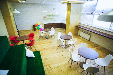 Мебель для корпоративной столовой Северстали