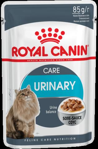 Влажный корм для кошек в возрасте от 1 года, склонных к развитию мочекаменной болезни
