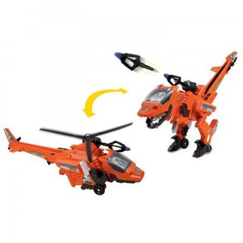 Блистер Велоцираптор Вертолет оранжевый 38 см