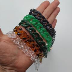 Цепочка для сумки, акрил 60 см (выбрать цвет)