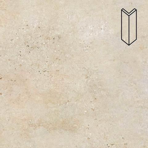 Stroeher - Gravel Blend 960 beige 157х60х60x11 артикул 9000/9010 - Угловой клинкерный подступенок