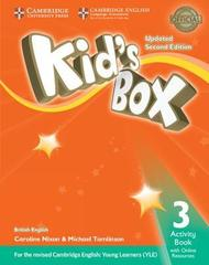 Kid's Box UPDATED Second Edition 3 Activity Book with Online Resources
