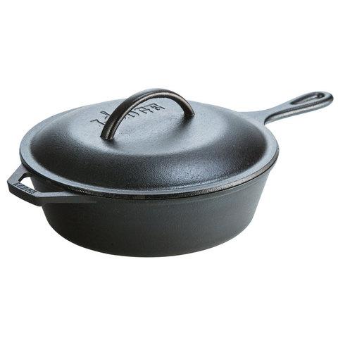 Сковородка глубокая круглая с крышкой , артикул L8CF3