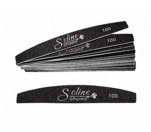 Сменные файлы Soline Charms (10 шт) лодка - 100 грит