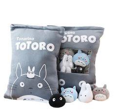 Мой сосед Тоторо подушка с игрушками