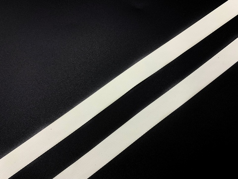 Резинка латексная для купальника белая 12 мм