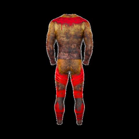 купить рашгард мужской orso irokez с длинным рукавом для фитнеса единоборств занятий спортом