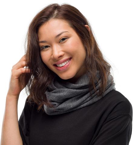 Вязаный шарф-хомут Buff Neckwear Knitted Infinity Yulia Grey фото 2