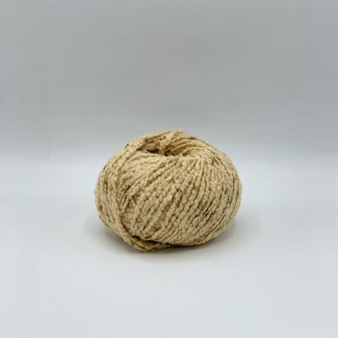 Biagioli Modesto (пр.Италия) 140 м / 50 гр. 95% кашемир 5% люрекс , цвет- Бежевый с золотым люрексом , арт.10199