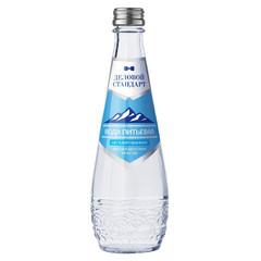 Вода питьевая Деловой Стандарт 0,33 негаз., стек/бут. 12шт/уп