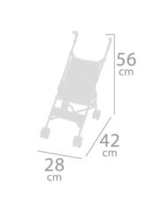 DeCuevas Коляска трость для куклы, серия Мартина, 56 см (90090-1)