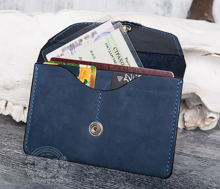 BC123-3 Обложка из кожи для карт, паспорта и документов фото 07