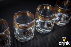 Подарочный набор из 4 стаканов для виски «Империя», 275 мл, фото 4