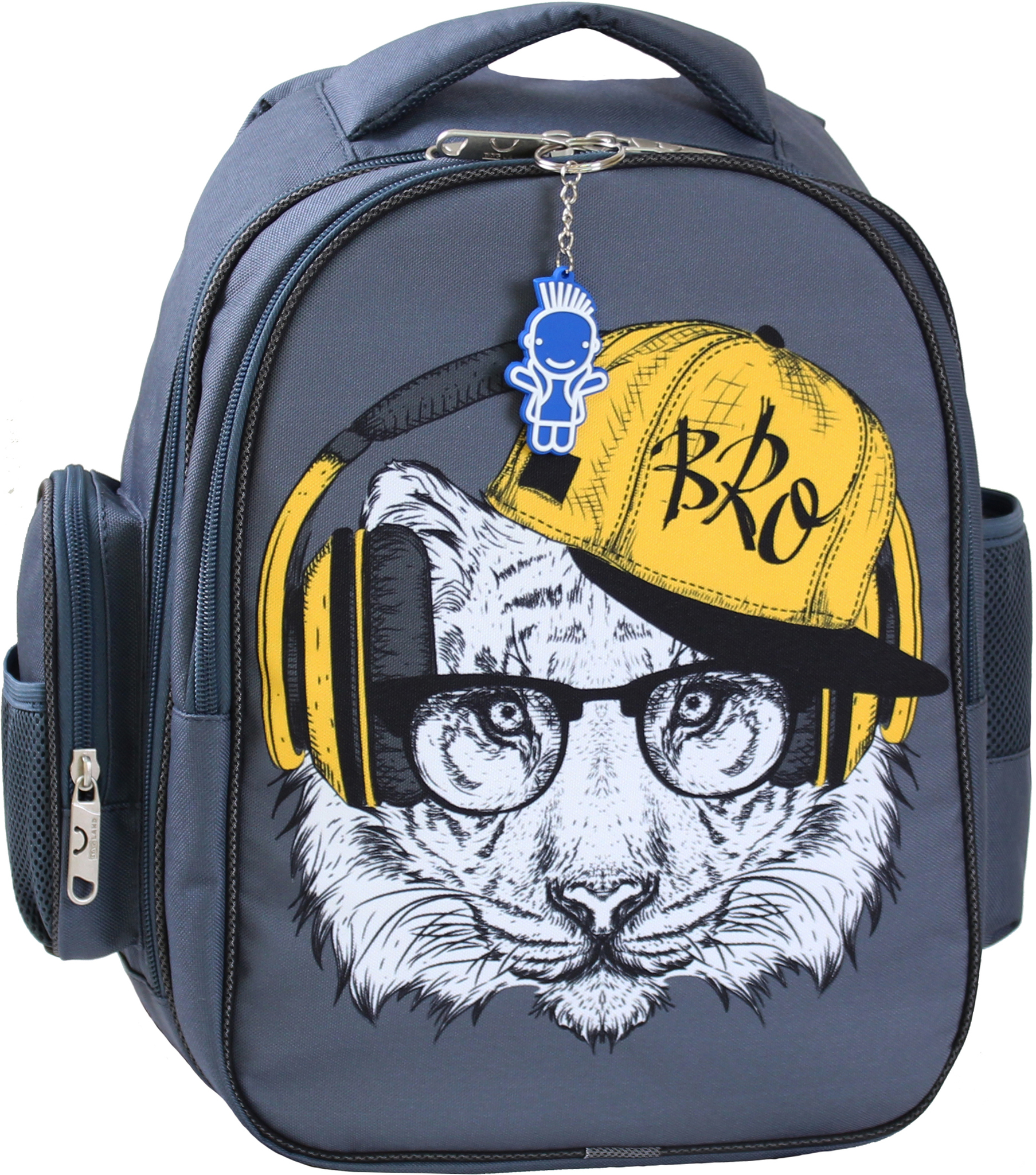 Школьные рюкзаки Рюкзак Bagland Pupil 14 л. серый 175 К (0012566) IMG_0034.JPG