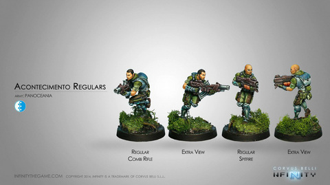 Acontecimento Regulars (Combi Rifle, Spitfire)