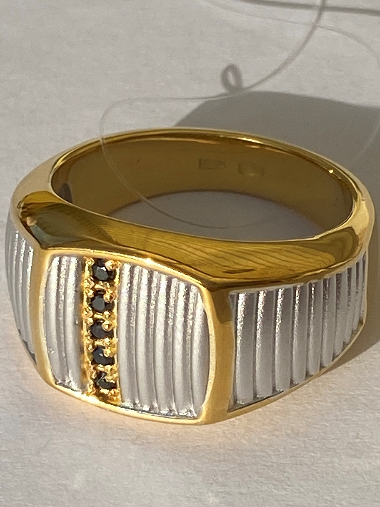 Печатка 338 БЗ (кольцо из серебра)