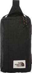 Рюкзак однолямочный North Face Field Bag Black Heather