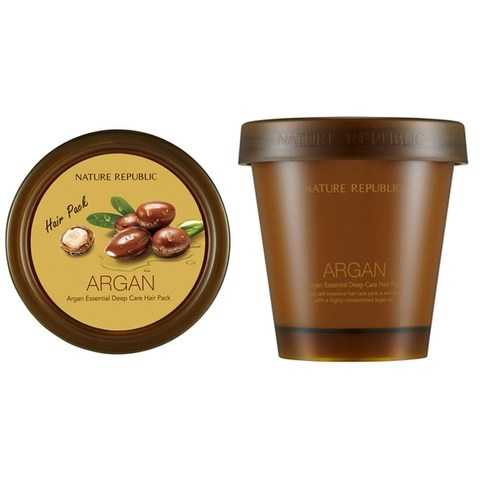 Маска для волос восстанавливающая с арганой NATURE REPUBLIC ARGAN ESSENTIAL DEEP CARE HAIR 200 мл