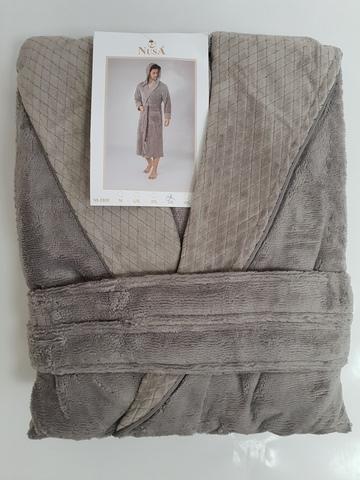 Халат мужской с капюшоном 2805 Nusa Турция