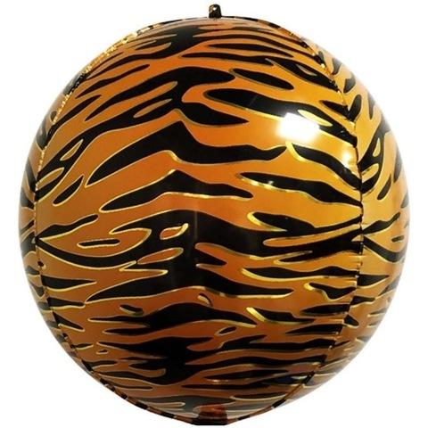 Сфера 3D, полосы тигра, 51 см