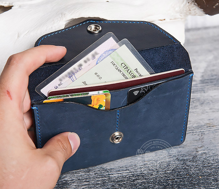 BC123-3 Обложка из кожи для карт, паспорта и документов фото 08