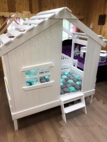 Кровать Домик Бабы Яги