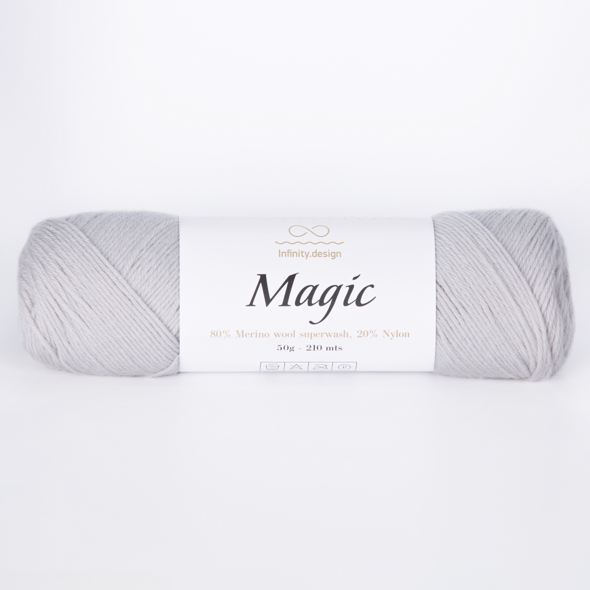 Пряжа Infinity Magic 1032 светло-серый