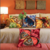 Подушка для вышивания Collection D'Art Синяя бабочка