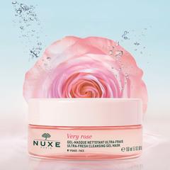 Nuxe Освежающая очищающая гель-маска для лица VERY ROSE