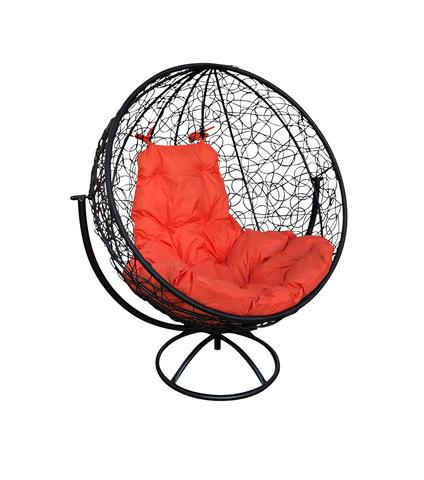 Кресло вращающееся Milagro black/orange