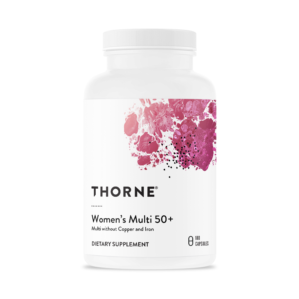 Комплекс витаминов для женщин 50+, WOMEN'S MULTI 50+, Thorne Research (180 капсул)