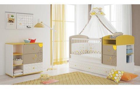 Комод Polini kids Disney baby 5090