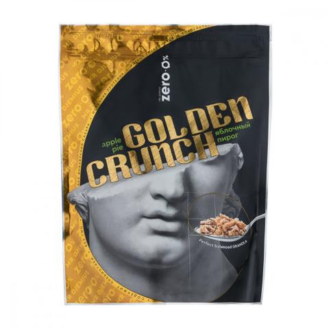 Гранола «Golden Crunch» со вкусом яблочный пирог, без сахара