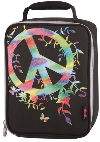Термосумка детская Thermos Peace Sign (черная)