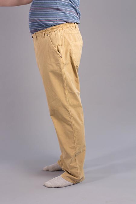 Выкройка мужских джинсов вид сбоку