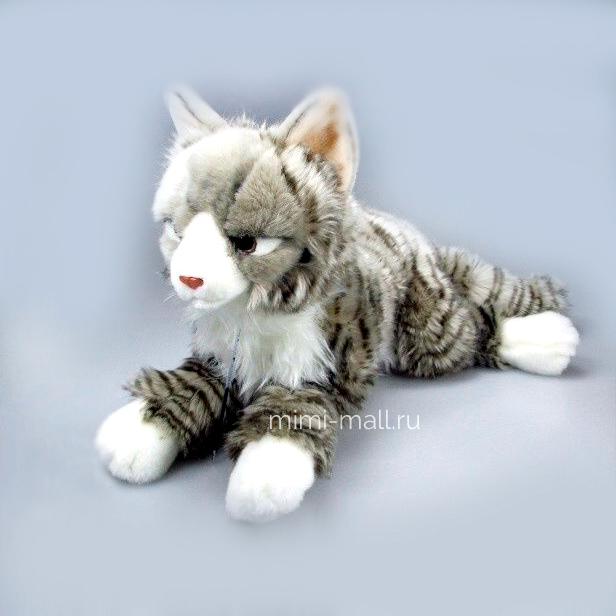 Мягкая игрушка Норвежская кошка 38 см (Leosco)