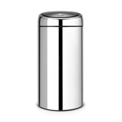 Мусорный бак Touch Bin (45 л), Стальной полированный