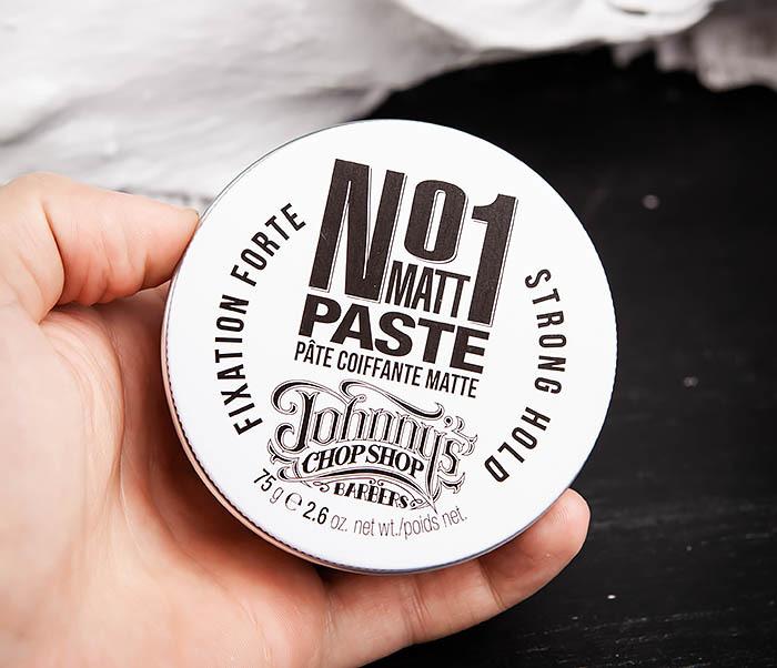 CARE102 Паста для укладки волос Johnny's Chop Shop №1 с матирующим эффектом (75 гр.) фото 04