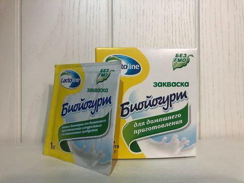 Закваска Биойогурт, 1 гр. (Лактолайн)