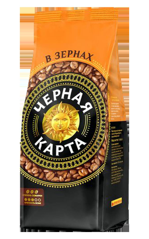 Кофе в зернах Черная Карта 1 кг