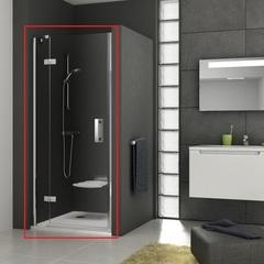 Дверь душевая распашная в нишу 100х190 см левая Ravak Smartline SMSD2-100 B L 0SLABA00Z1 фото